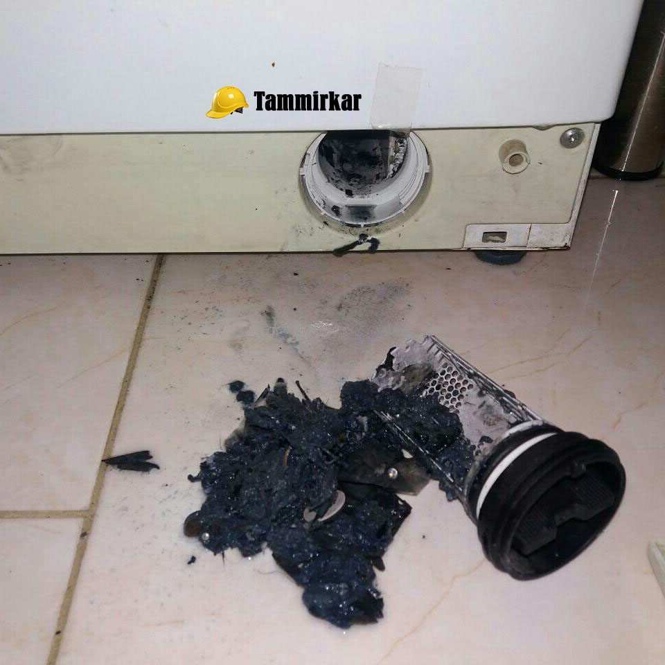 ارور های لباسشویی ال جی